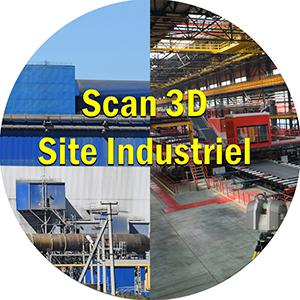 industriel 3d scan 3d site industriel